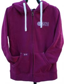 University of Bath Ultra Soft Hoodie- Cranberry